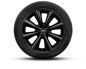 7J x 17 Conical-spoke R121 Black