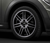7J x 17 Double-spoke R99 Grey Metallic