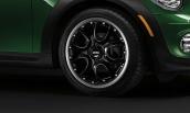 7J x 17 Web-spoke composite R98 Black