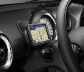 Holder for portable navigation systems, RHD