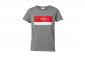 MINI T-shirt women's Wing Logo col block