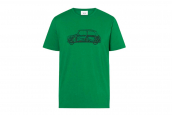 MINI T-Shirt Men Car Print