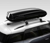 Set MINI roof box decor stripe
